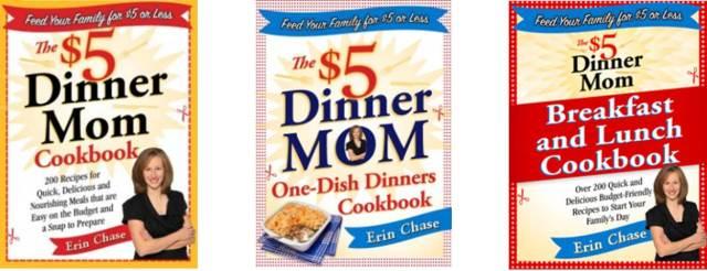 The $5 Dinner Mom Cookbooks